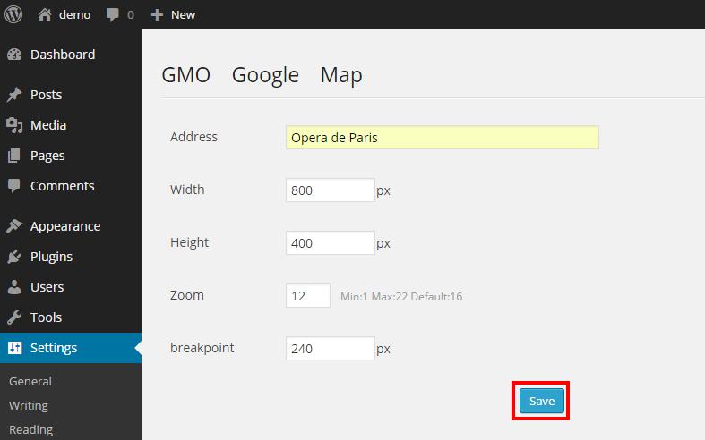 GMO Google Maps 4