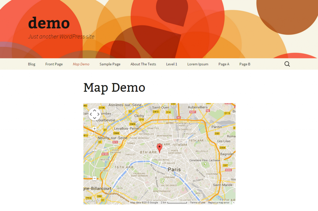 GMO Google Maps Demo